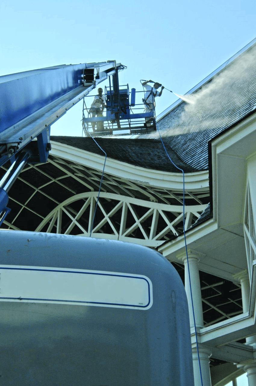Моющее оборудование для промышленных мощностей
