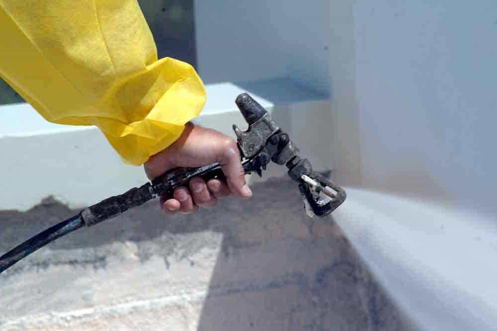 Нанесение покрытий методом безвоздушного распыления